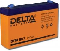 Delta  DTM 607 Аккумулятор герметичный свинцово-кислотный
